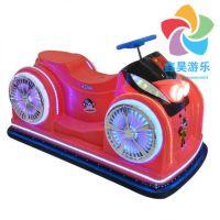 儿童火星战车碰碰车 广场彩灯玩具车 双人户外发光遥控车