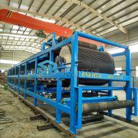 浙江工业污泥处理设备生产厂家 污泥脱水机 带式真空过滤机SHDU-30 应用广 经验丰富