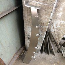 新云专业生产不锈钢刀头栏杆、斜头 大刀片栏杆,量大优惠
