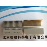 064172 064097ERNI连接器110Pins Pressfit PCB Connector