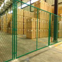 浸塑车间隔离栅网 仓库厂房分区网 热镀锌护栏隔离栅