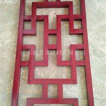 氟碳漆铝合金花格 复古造型木纹铝花格