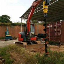 艾迪系列挖掘机螺旋钻机闪电发货厂家现货