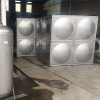 厂家直销杭州不锈钢水箱10t 容量定制 组合式不锈钢方形水箱