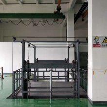 齐岳升降机厂家主营导轨式升降平台,SJD0.5-10