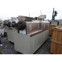 山东梁山正点二手设备出售二手济南大鹏DP65双螺杆膨化机 回收膨化机