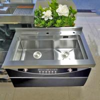 304不锈钢水槽厨房水槽套装手工双槽集成水水槽洗菜盆洗手池