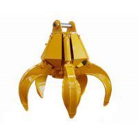 沃尔华机械式抓斗挖掘机多瓣抓具