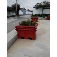 防腐木花箱花盆 实木种植花箱 景观木制花箱花盆 园林组合花盆