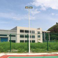 惠城区直销6米中杆灯灯杆结构 LED球场照明灯光 室外篮球场灯光耗电情况