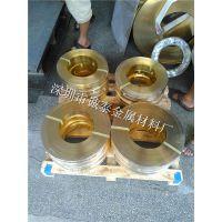 珠海镀镍黄铜带 H62镀锡黄铜带供应 国标电镀黄铜卷料批发