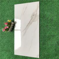 陶瓷薄板仿白木纹线条400x800客厅内墙砖卫生间亮光釉面背景砖