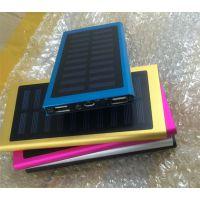 礼品超薄20000毫安太阳能移动电源厂家批发