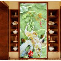 致富创业加工项目 3d浮雕光油背景墙彩绘机 uv平板打印机厂家