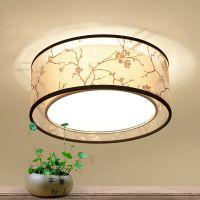 供应卧室吸顶灯中国风led创意圆形客厅灯具新中式吸顶灯温馨房间灯