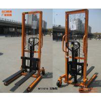 MT1016型手动液压堆高车,手动装卸叉车,手动堆高车,手动叉车,北京手动卸料叉车