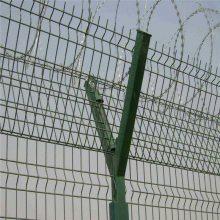 武汉机场专用Y型立柱护栏网——机场防护用网出厂价格【100%实体厂家】