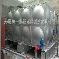 24吨不锈钢消防水箱 304水箱定制安装无锡精一泓扬水箱厂家