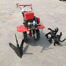 小型家用汽油式松土机 大棚肩背旋耕机 经济作物种植旋耕除草机