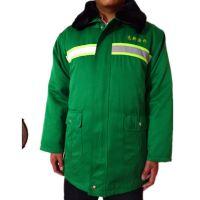 园林绿化加厚棉大衣  环卫工人反光多功能防寒服 道路施工棉衣