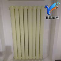 钢二柱暖气片QFGZ212钢二柱散热器裕泽采暖专业生产