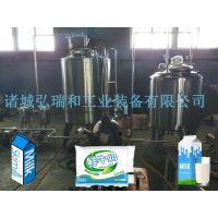 鲜奶设备-小型豆奶生产线
