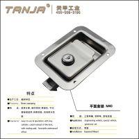 【天甲】工业设备盒锁M40 车门嵌入式平面锁 发电机组盒锁 工业设备盒锁