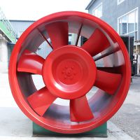 DTF-W-5.5轴流排烟风机 1.1KW消防排烟风机 中大空调