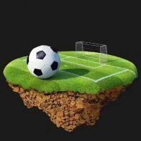 大型足球场人造草坪 场地施工 价格便宜