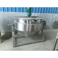 400L蒸汽可倾式夹层锅 立式夹层锅 搅拌器 食品加工专用设备