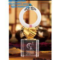 广州供应高档创意合作共赢 ,广州金属奖杯定做-环典