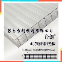 3mmPC阳光板、茶色、湖蓝、乳白、透明、耐力板、阳光板可定做台创品牌