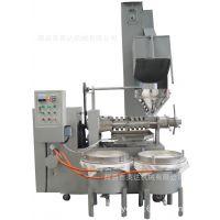 英达机械6YL-125冷热型全自动条排榨油机