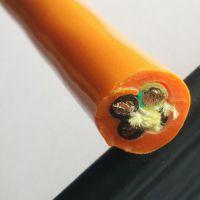 聚氨酯PUR耐低温耐寒卷筒电缆4*10/16/18/20/35/50/70/95/120/150平方