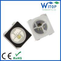 工厂封装WS2812B/S 内置驱动IC 幻彩灯珠,WS2811 5050全彩灯珠,点控灯珠