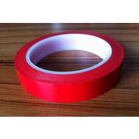 生产 PET红色高温胶带 耐酸碱 防腐蚀 半成品PET红色电镀高温胶带