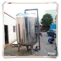 晨兴销售不锈钢油水分离设备硅胶脱色砂滤罐柴油海油机械过滤器