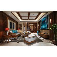 重庆唐卡装饰公司丨银翔翡翠谷设计案例丨美式风格