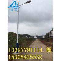 湖南湘西凤凰太阳能道路灯厂家 单双头臂道路灯 LED路灯