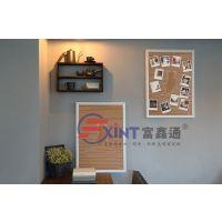 惠州软木装饰小招牌F河源双面留言板X图钉板软木片