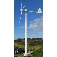 50kw大型并网风力发电机组玻璃钢叶片风力发电机安全性高晟成