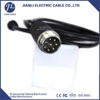 深圳建利线材汽车信号传输8pin摄像头延长线定制工厂