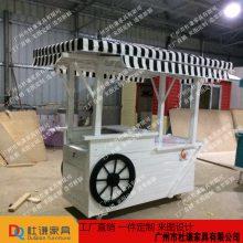 工厂供应实用便民四轮流动旅游区售货亭 九龙城售货车