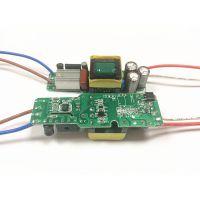 奇翰24w30w36w 600ma 10-18串x3wLED恒流驱动电源宽压隔离高PF高效率内置电源