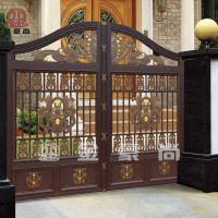 精美的别墅庭院大门装修效果图,别墅庭院大门装修图片