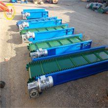 铝型材皮带输送机 润丰 60宽输送饲料皮带机