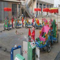 小洋人机器人蹬车猴拉车??新款广场游乐设备玩具车 猴子拉车游艺机造型新颖,色彩鲜艳。形象生动,还带有