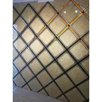 艺术玻璃背景墙拼镜/隔断/沙发/客厅电视背景墙 灰镜菱形欧式现代