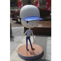 东莞原著雕塑厂家批发 动漫卡通人物雕像 城市休闲步行街摆件