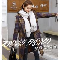 义乌服装批发厂家直销女装毛呢外套批发五到十元服装批发广东便宜服装销售